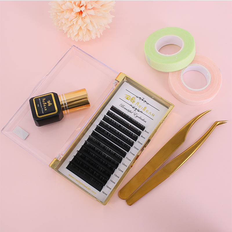 Individual Eyelash Extensions 0.07mm C curl Mix 8-...