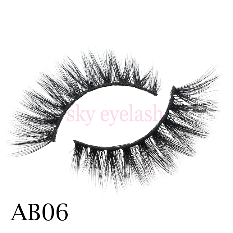Best 3D faux mink eyelashes with false eyelash glue to UK USA CO