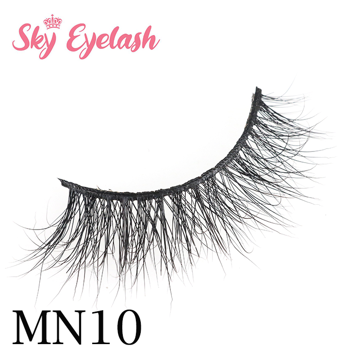 Best selling luxury 3D real mink fur eyelash manufacture price China Canada YO