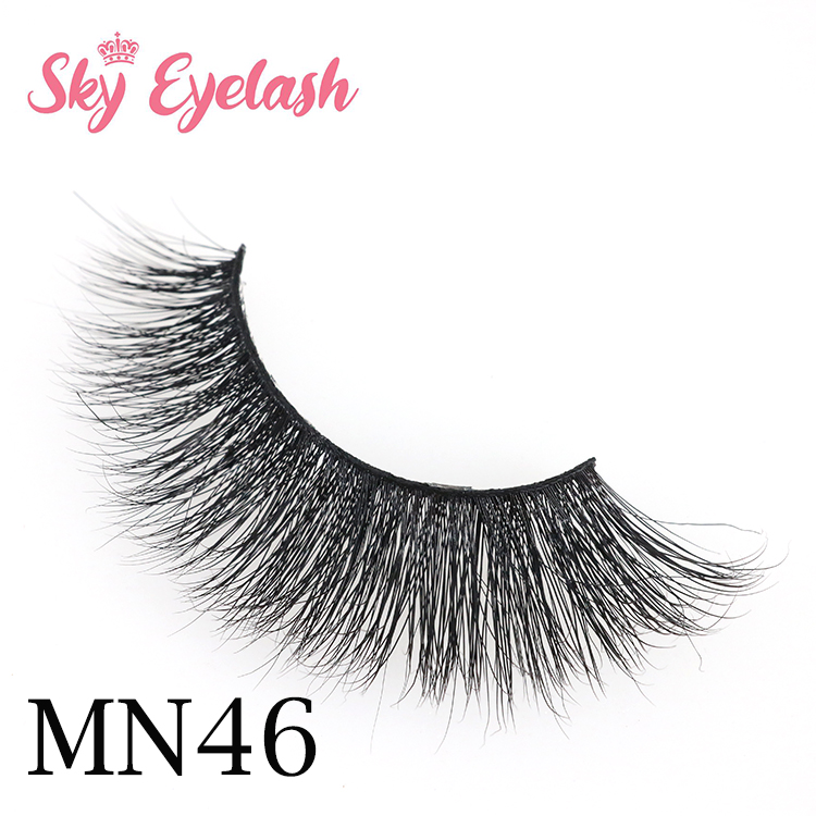 20 mm 3D mink lashes eyelash long thick lashes strip vendors suppliers factory manufacturer China USA AW