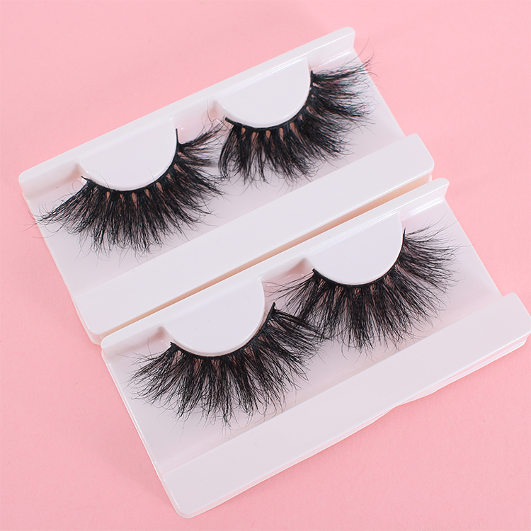 Wholesale 25mm 5D eyelashes with eyelash glue liner USA