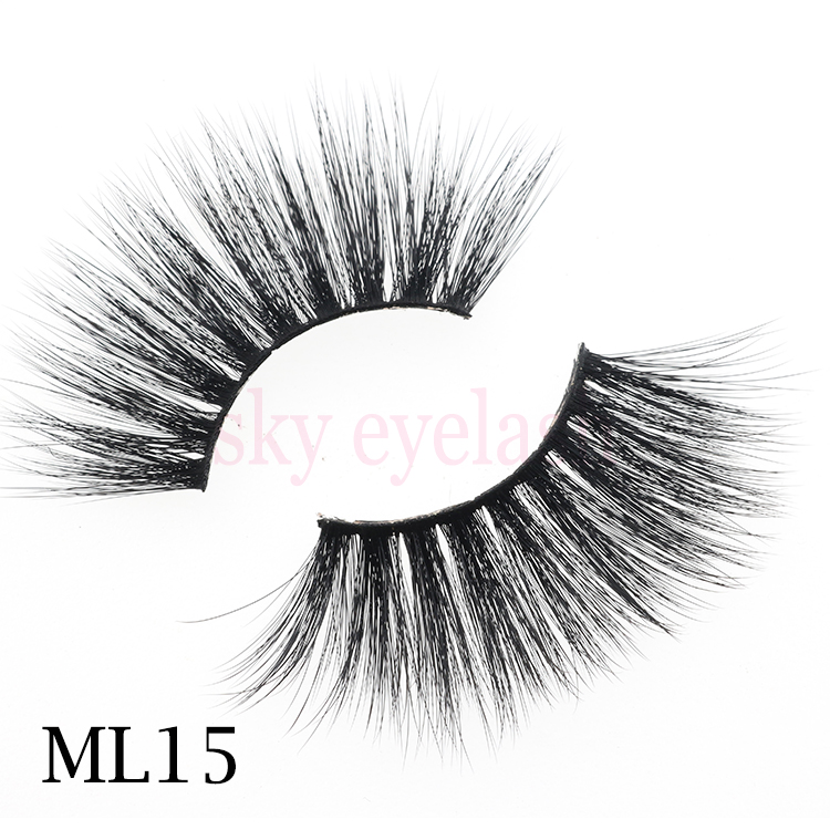 Lash manufacturer wholesale 5D effect 25mm eyelashes with lash packaging-SX