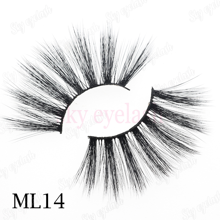 False eyelash supplier wholesale 5D faux mink eyelashes with private label-BW