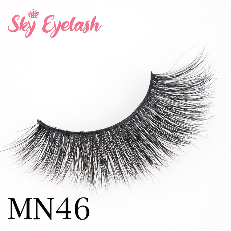 Wholesale 3d mink eyelashes best quality suppliers with custom pakage  YO