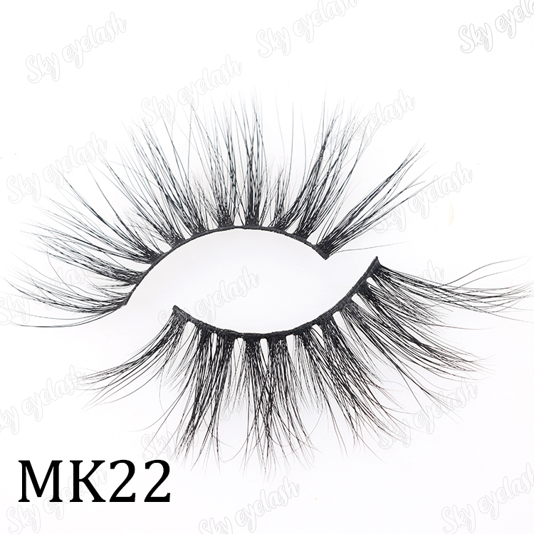 Sky eyelash manufacturer wholesale mink 25mm lash extensions to US