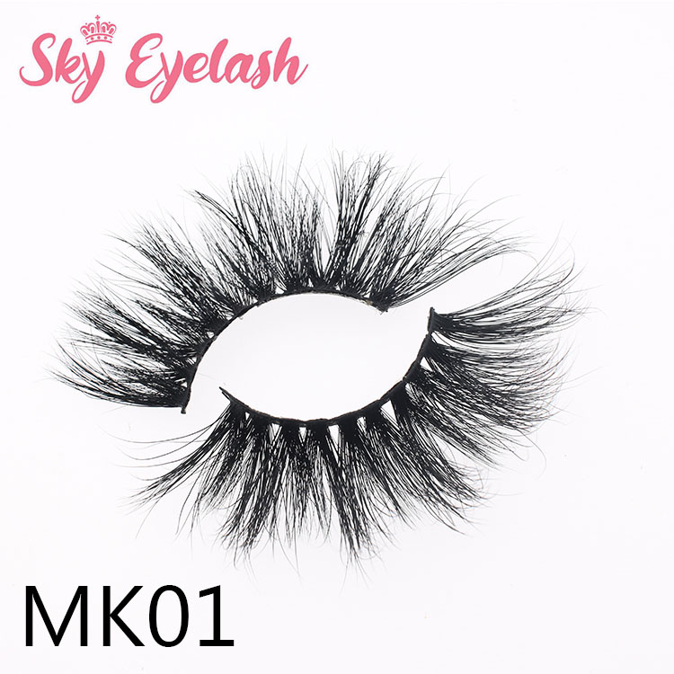 Wholesale 25mm 5D mink lashes bulk USA