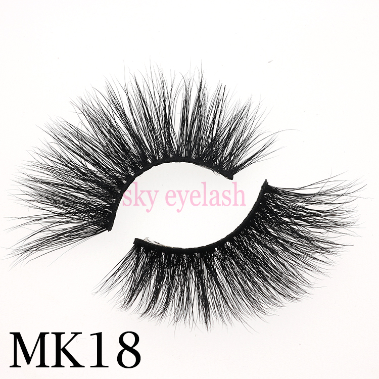 Sky eyelash vendor wholesale 25mm minks with factory price