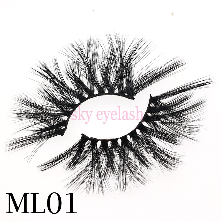 Top 3 high quality 25mm 3D faux mink eyelashes with best lash glue to UK CO