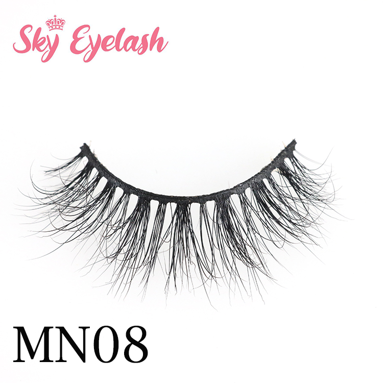 Eyelash vendor supplies best quality 3D mink eyelashes hot selling in US-BW