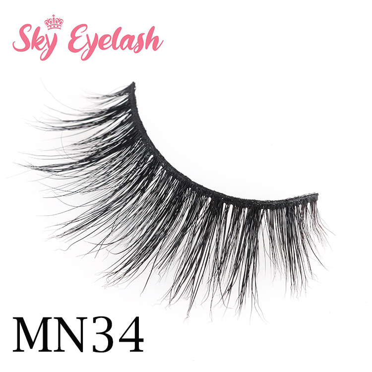Siberian 3D mink eyelash natural layered effect wholesale lash vendors OL