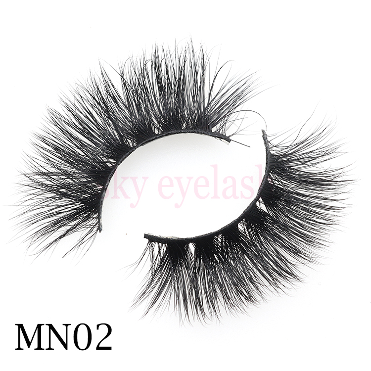 Natural eyelashes with private label wholesale to US from China lash vendor-BW