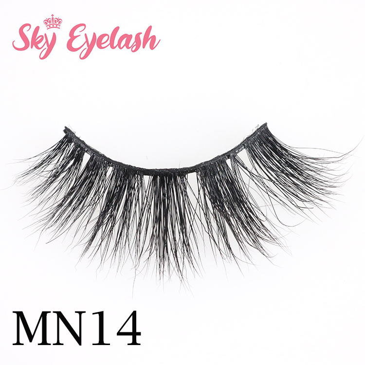3D mink eyelashes wholesale distributor USA mink lashes with cheap lash box-BW