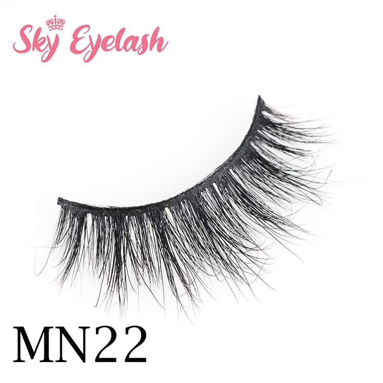 wholesale new arrival 3D mink eyelashes with customized eyelash packaging boxes to USA OL