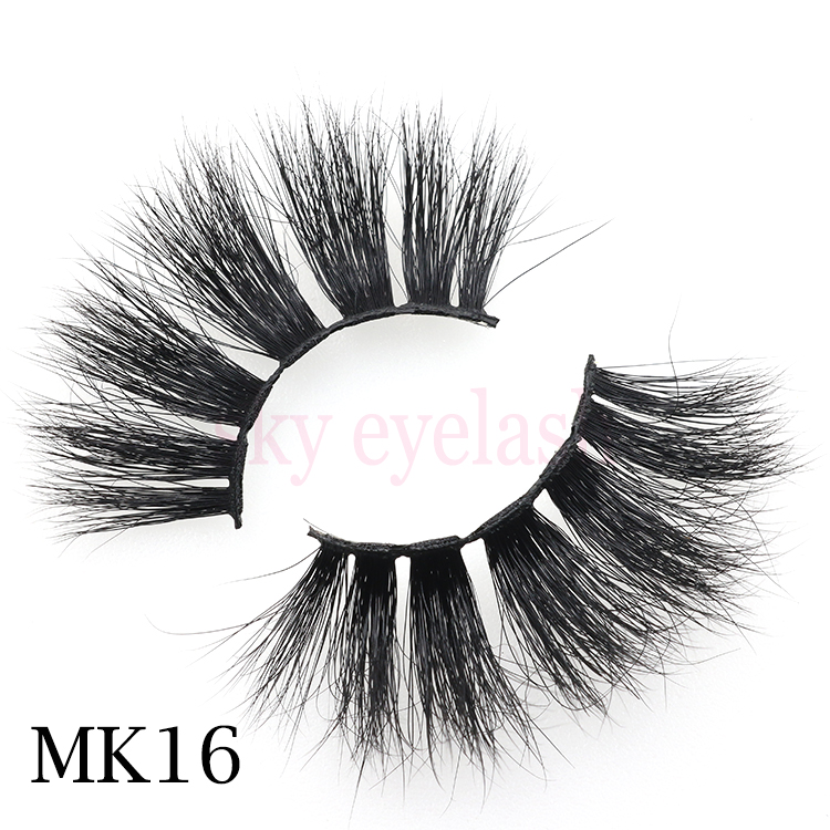 Permanent false eyelashes hot 25mm 5D mink eyelashes with private label boxes to AU CO