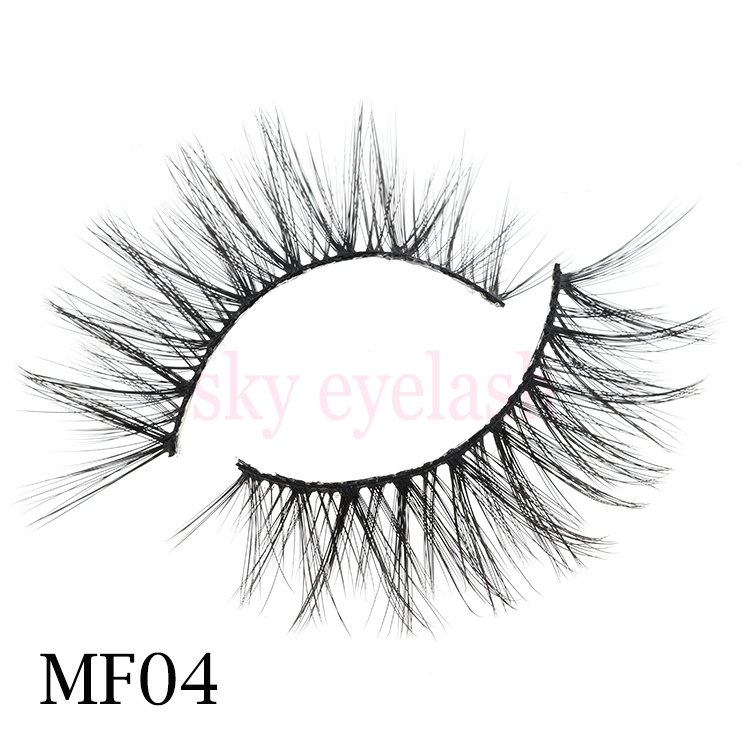 Lash vendor wholesale light weight 3D silk lashes with customized package-SX