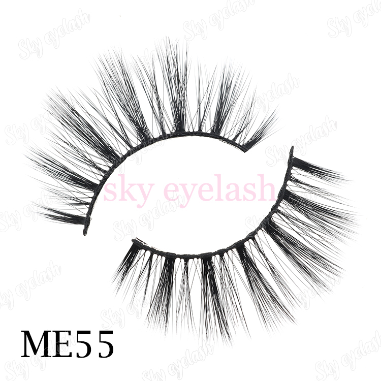 Faux mink lashes wholesale private label 3D faux mink eyelashes-BW