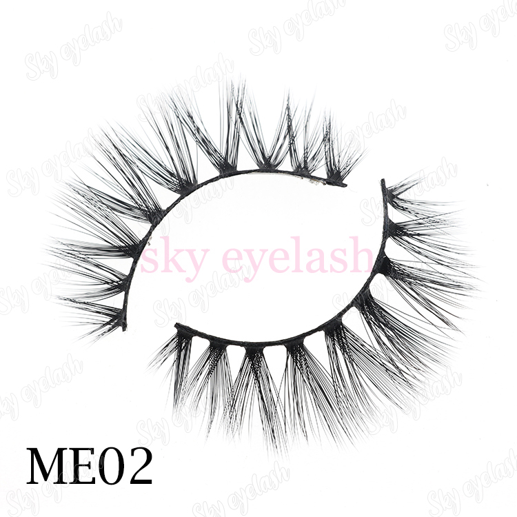 Synthetic fibers lashes vendor wholesale vegan 3D faux mink to Australia with customized-box-BW