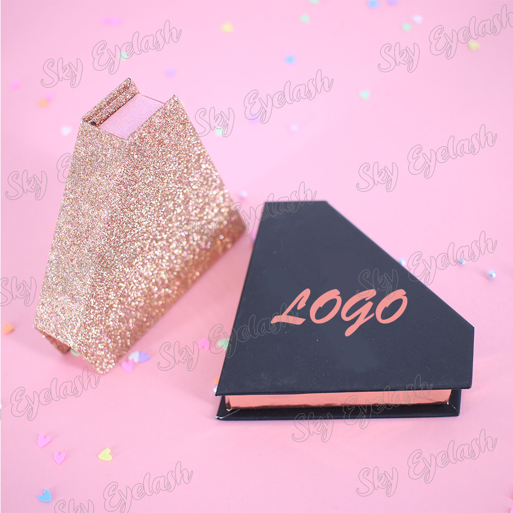 Cheap custom eyelash boxes vendor wholesale eyelash packaging box for false eyelashes-SX