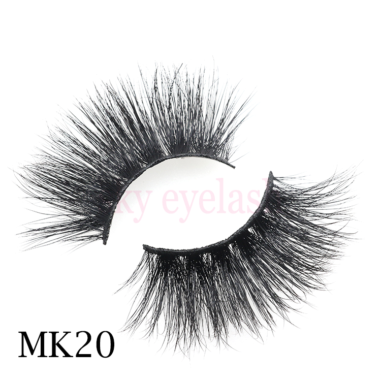 Eyelash vendor handmade beautiful eyelashes wholesale mink lashes 25mm 3D with private label to US-SX