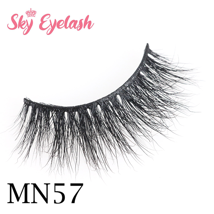 Mink lash vendor wholesale 3D mink eyelashes with custom eyelash boxes to US-SX