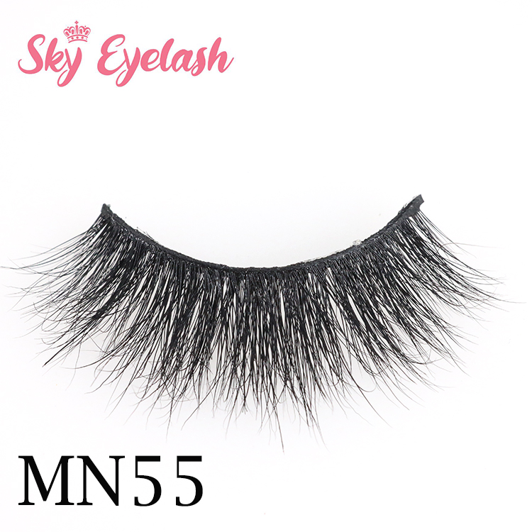 Mink eyelash wholesale vendor 3d mink eyelashes with cheap custom eyelash boxes-SX