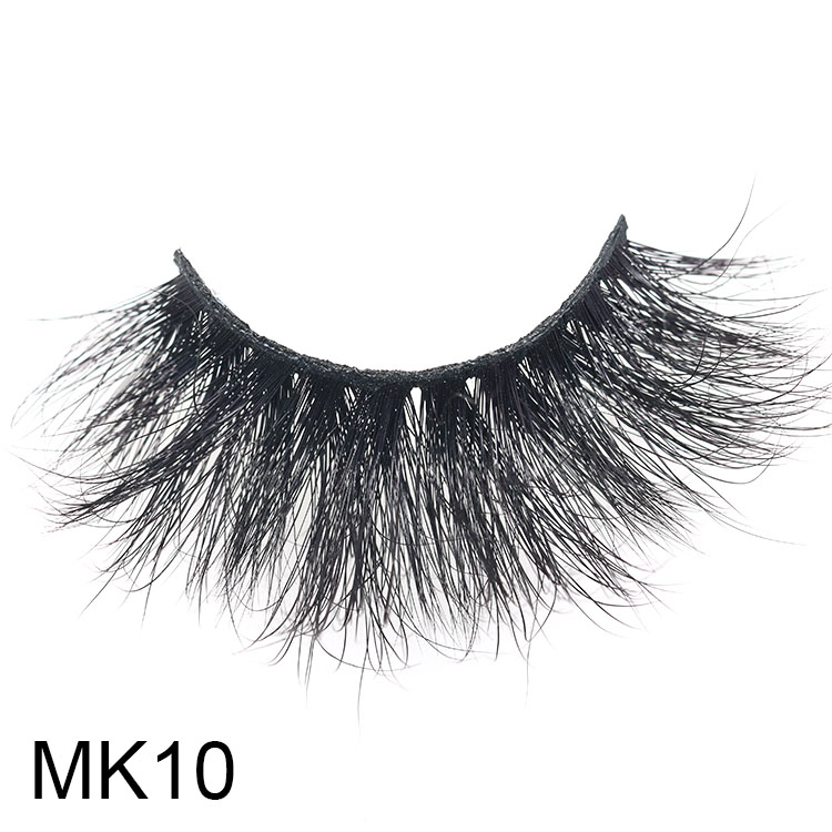 Top 3 best selling 25mm long 3D mink eyelash vendors with own brand packaging CO