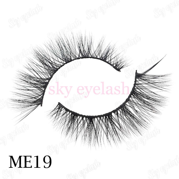 False eyelash wholesaler cheap hot selling 3D faux mink eyelash with package-SX