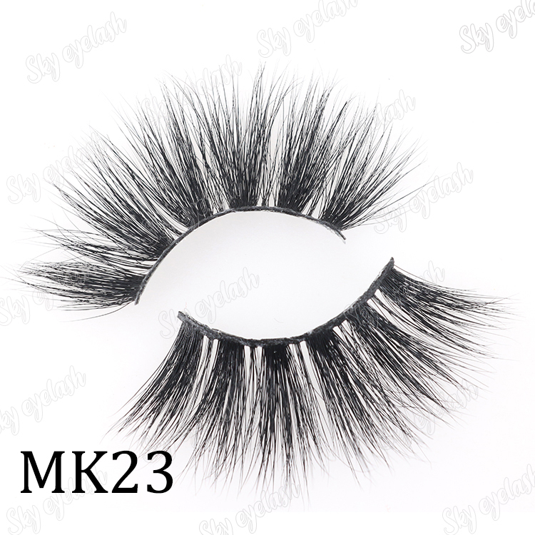 False eyelash vendor wholesale high quality 25mm 5D eyelashes with customized package-SX