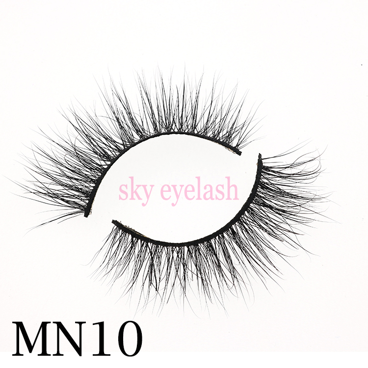 The best 10 seller 3D mink eyelashes manufacturer wholesale to US