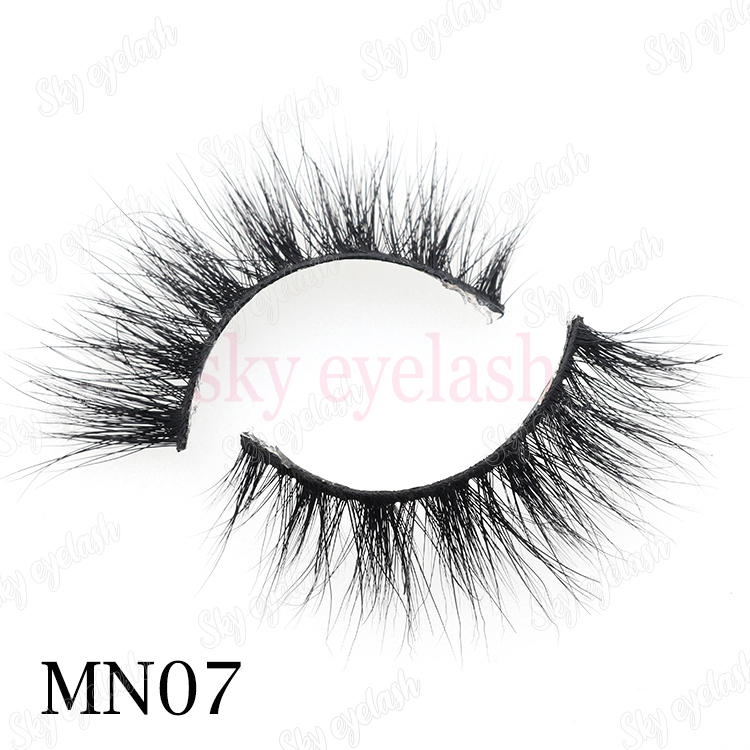 25mm mink lash manufacturer wholesale 5D mink eyelashes to Saudi Arabia CO