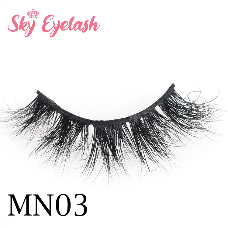 Best fake eyelashes vendor supplies dramatic mink eyelashes with private label-BW