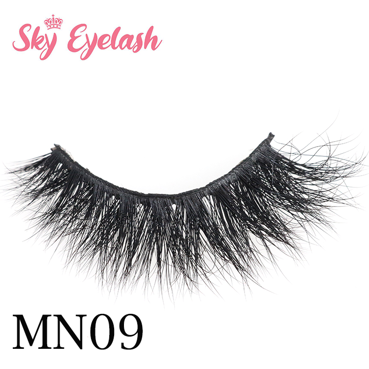 Best eyelash vendor wholesale cruelty free 3D mink eyelashes-BW