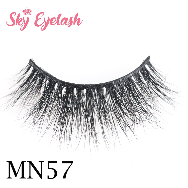 Luxurious full strip eyelash wholesale vendors 3d mink eyelash with custom pakage YO