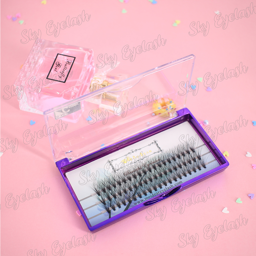 Lash vendor wholesale volume eyelash extensions with semi-permanent lash glue