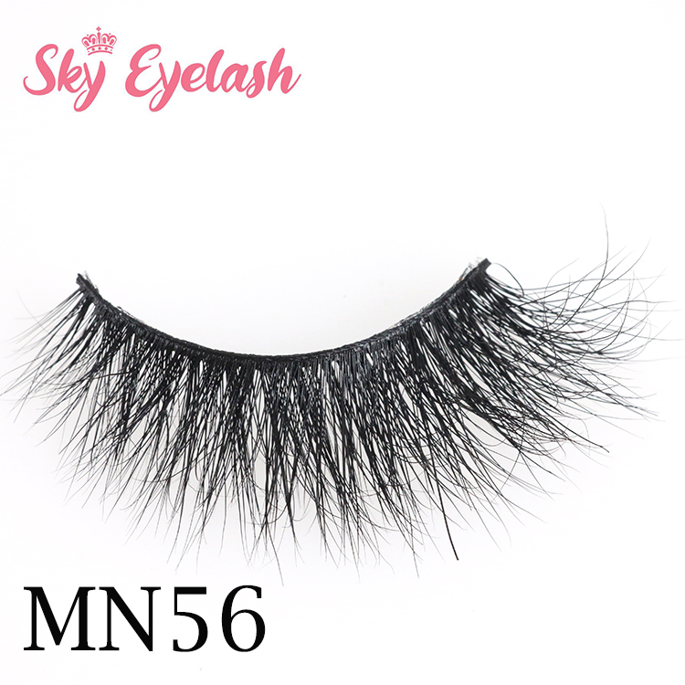 Cheap 3d real mink eyelash and private lash box vendors USA YO