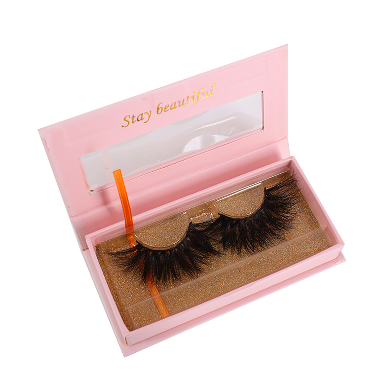 2021 most popular eyelash packaging for real mink lashes wholesale Canada