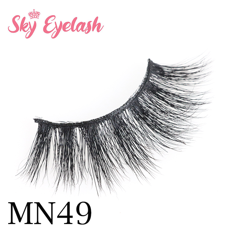 Best siberian full strip 3D mink eyelashes vendor with private label box YO