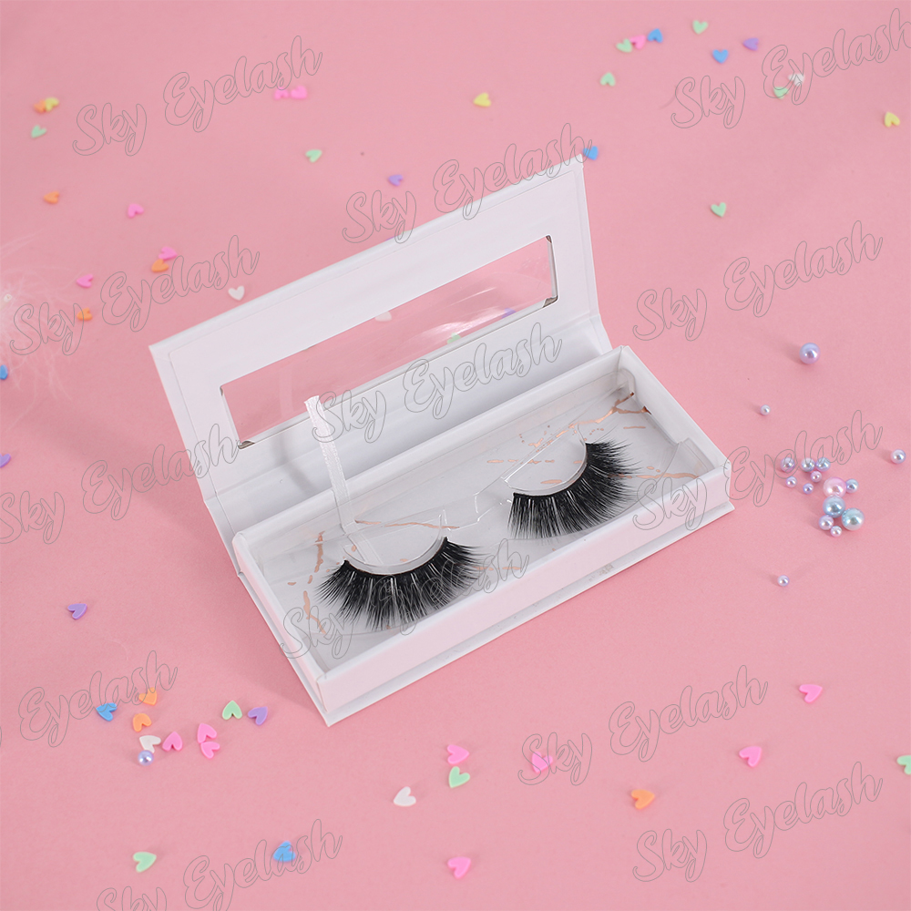 Eyelashes vendors supply 3D faux mink lashes with cheap price to UK OEM ODM