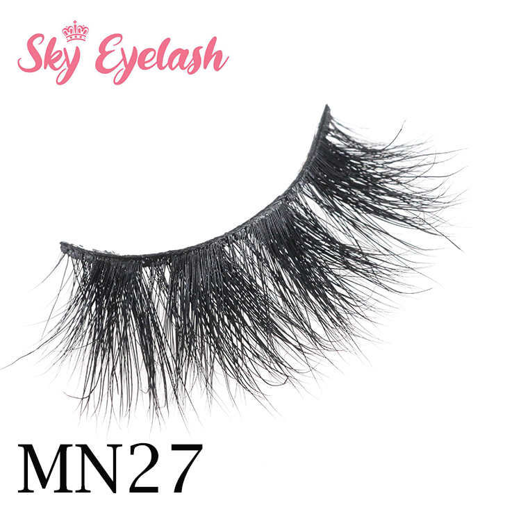 Lashes vendor wholesale real mink new arrival 3D mink eyelashes with custom packaging CO