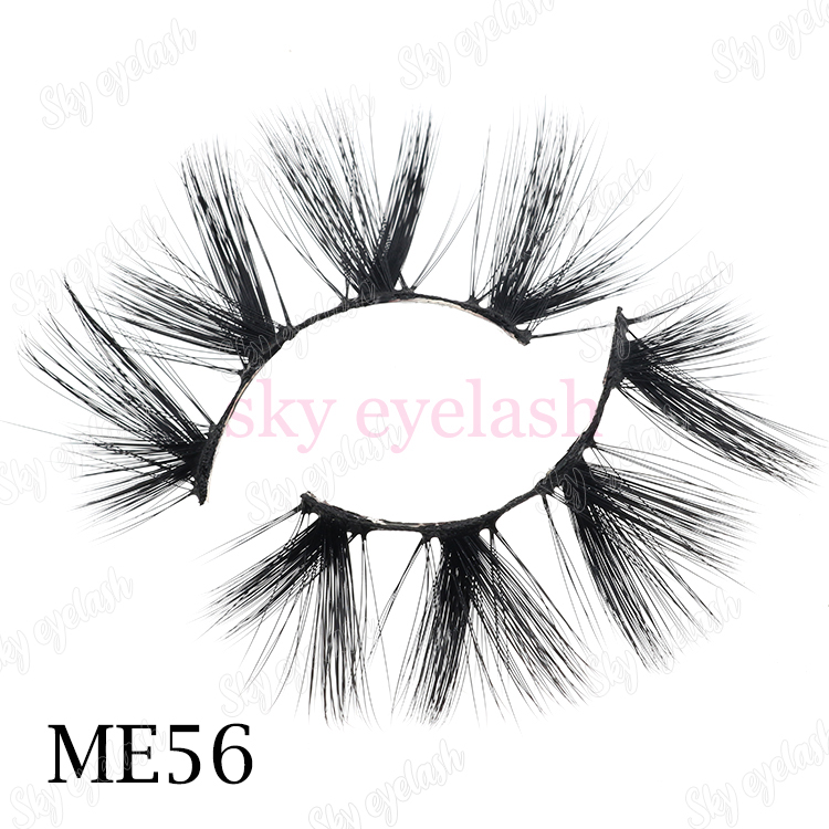 Eyelash distributor supplies 3D faux mink lashes with eyelash packaging to US-BW