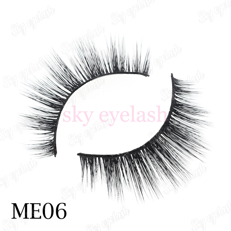 Fluffy 3D faux mink eyelashes wholesale from lash factory-BW