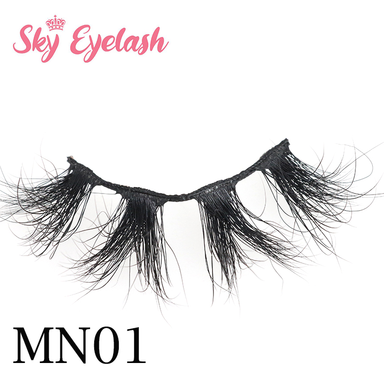 25mm long 3D Mink lash vendors diy eyelash packaging glitter eyelash packaging CO