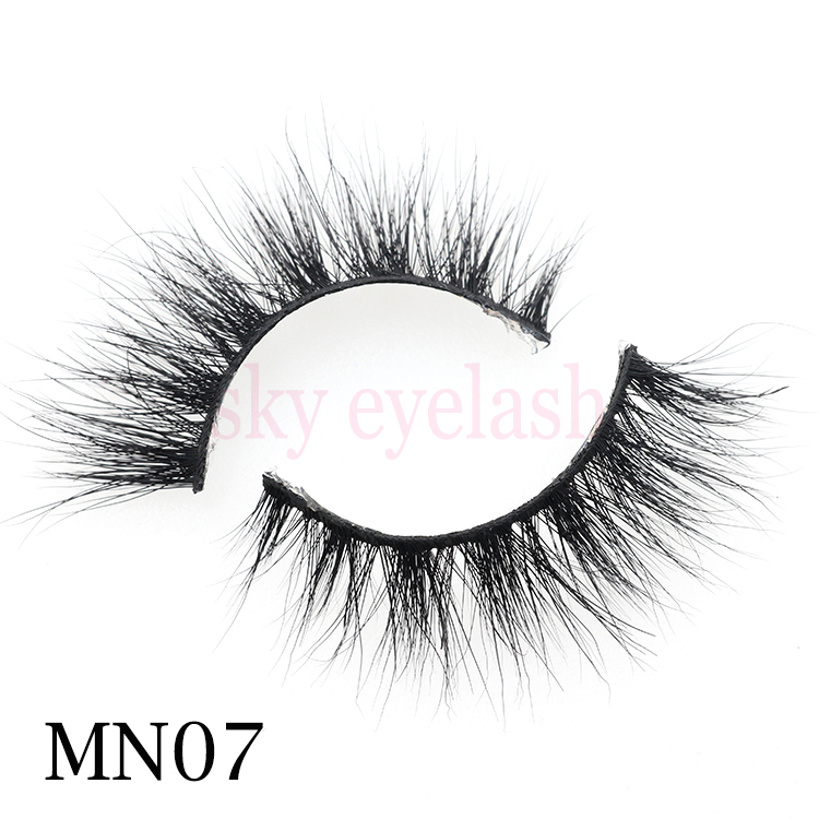 Eyelash factory supplies real mink eyelashes with perfect 3D effect and long length-BW