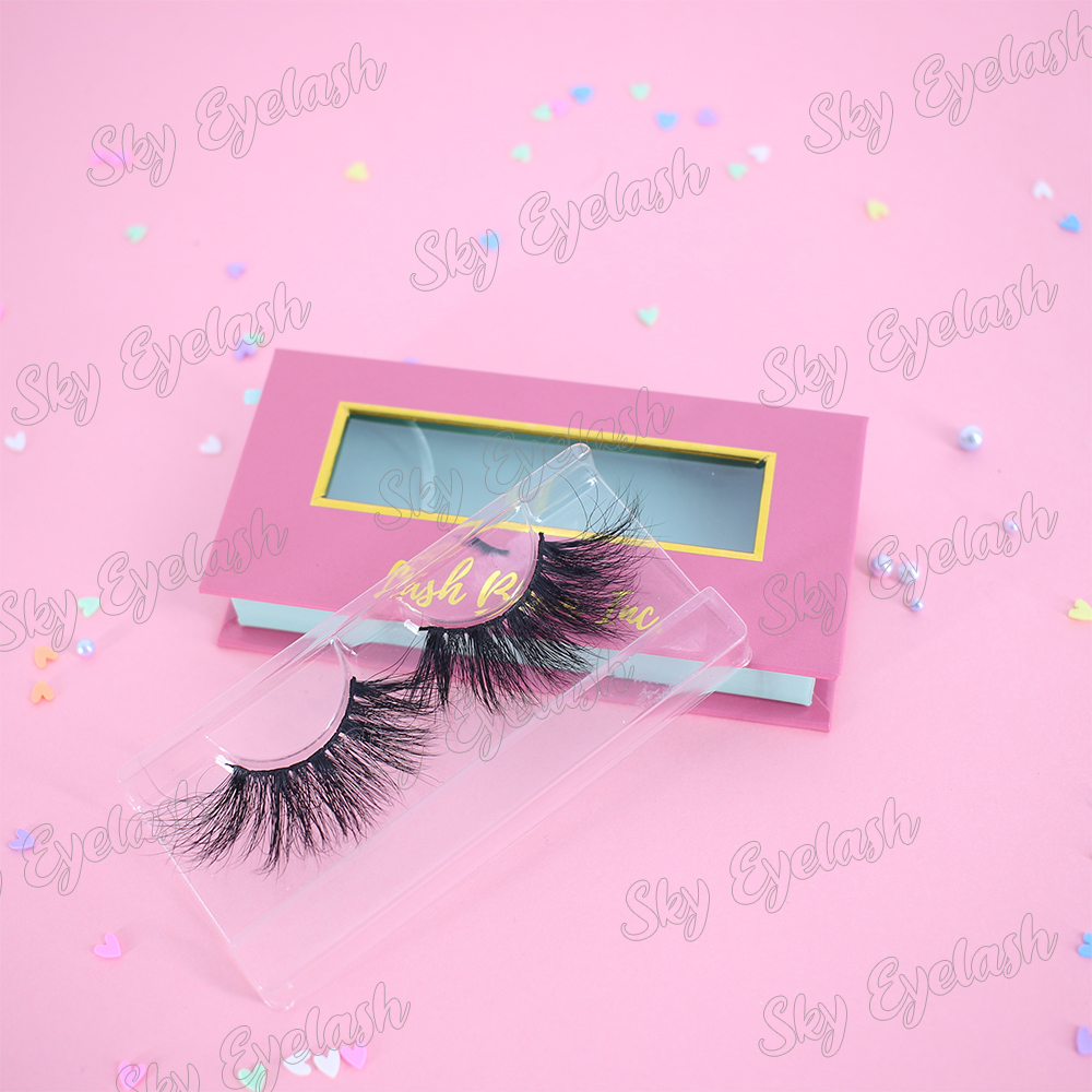 Lash vendor wholesale new arrival 3D faux mink fake eyelashes with best eyelash glue