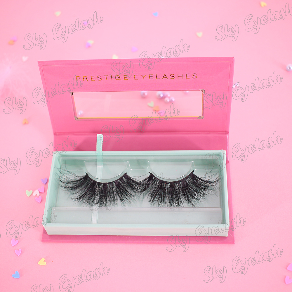 Lash vendor wholesale eyelash package box with private label to UK USA