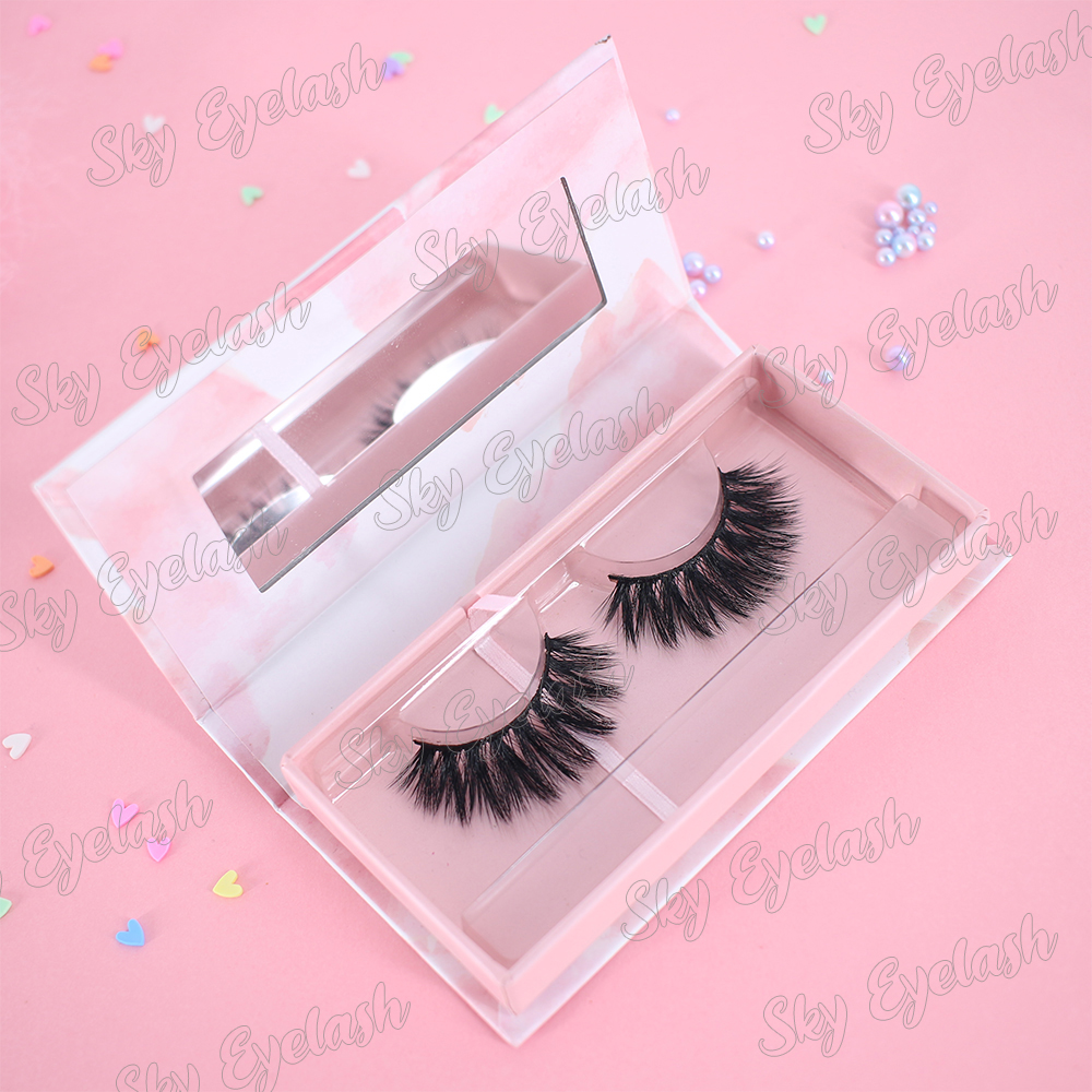 Wholesale  5D mink eyelashes with cheap price to Canada USA CO