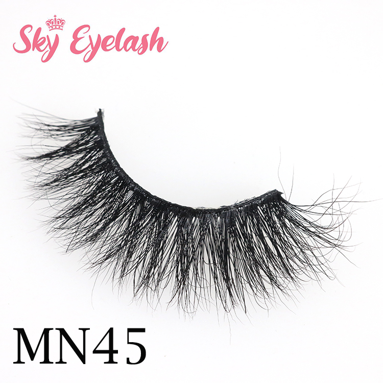 Wholesale 25mm 5D mink eyelashes distributor to USA with packaging CO
