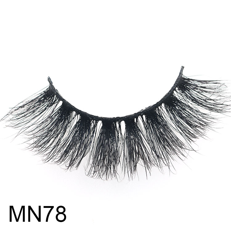 Lashes vendor wholesale 5D mink eyelash with adhesive glue and custom magnetic packaging USA CO