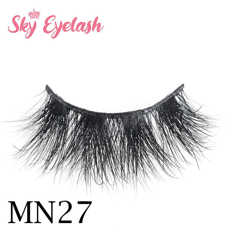 Lashes vendor supply best 3D mink eyelashes for mink lash bar with best glue CO