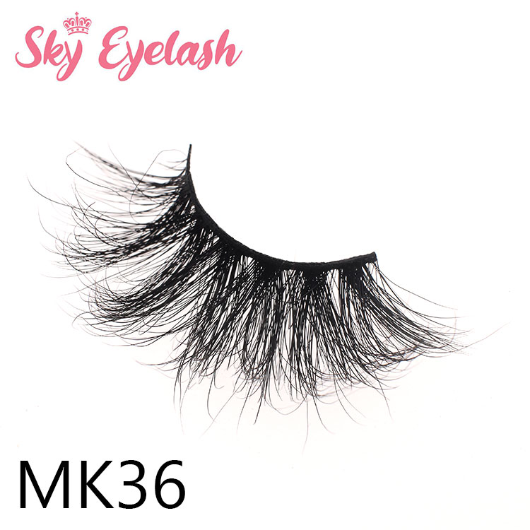 Lash vendor provides wholesale price 25mm long mink 3D eyelashes to Australia-BW